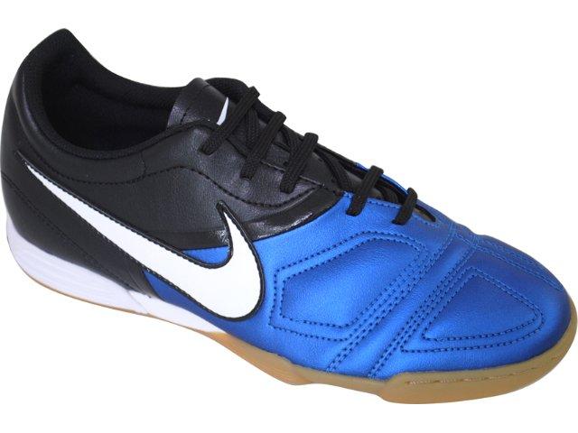 Tênis Masculino Nike Enganche 366231-410 Preto/branco/azul
