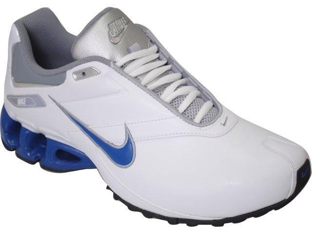 Tênis Masculino Nike Impax Emirro 386501-103 Branco/azul