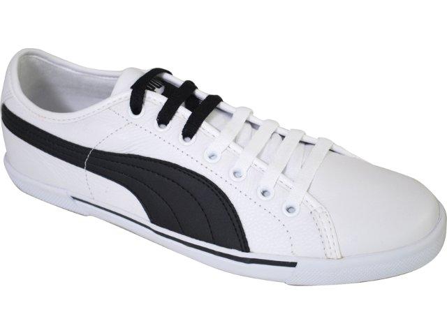 Tênis Masculino Puma 351038 Branco/preto