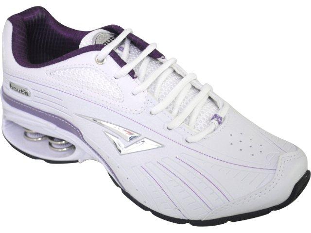 Tênis Feminino Bouts 7323 Branco/uva