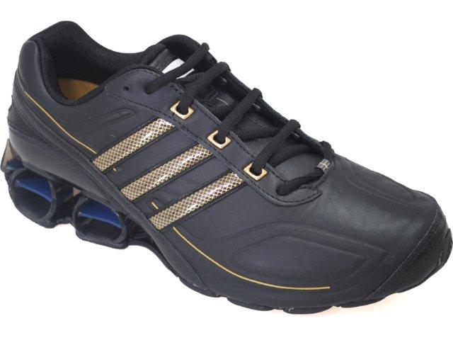 Tênis Masculino Adidas G17034 Preto/ouro