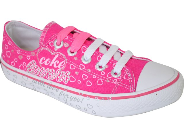 Tênis Feminino Coca-cola Shoes C0052003 Pink
