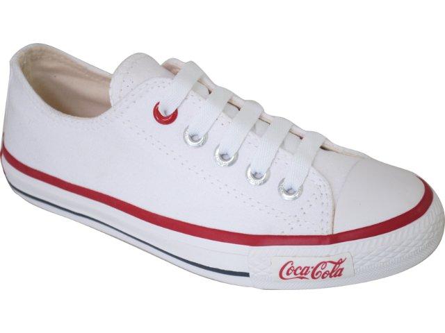 Tênis Feminino Coca-cola Shoes C0230006 Branco