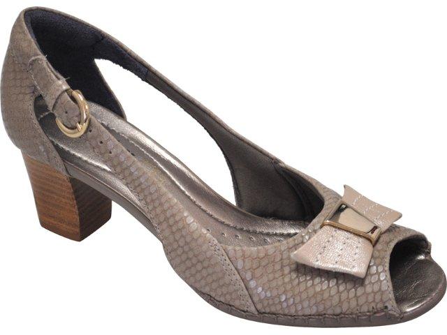 Sapato Feminino Usaflex 7110 Natural