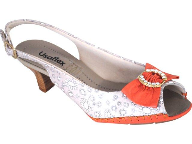 Chanel(x) Feminino Usaflex 7038 Marfim/laranja