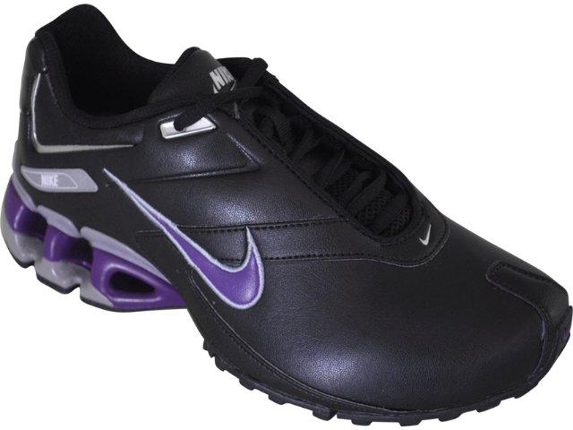 Tênis Feminino Nike Impax Emirro 386844-005 Preto/roxo