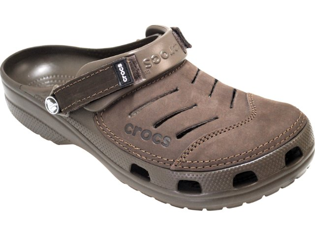 Masculino Crocs Yukon Chocolate