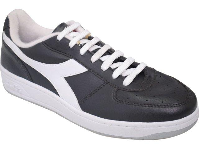 Tênis Masculino Diadora 350739 Italy Preto/branco