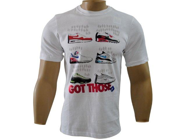 Camiseta Masculina Nike 411031-100 Branco