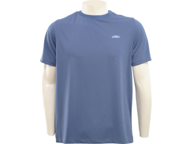 Camiseta Masculina Olympikus R801 Chumbo