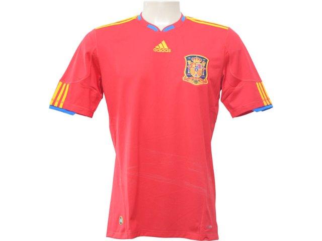 Camiseta Masculina Adidas P47902 Espanha Vermelho
