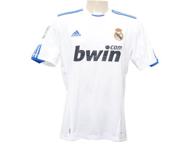 Camisa Masculina Adidas P96163 Real Madrid Branco