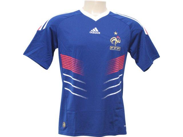 Camisa Masculina Adidas 487880 Franca Azul