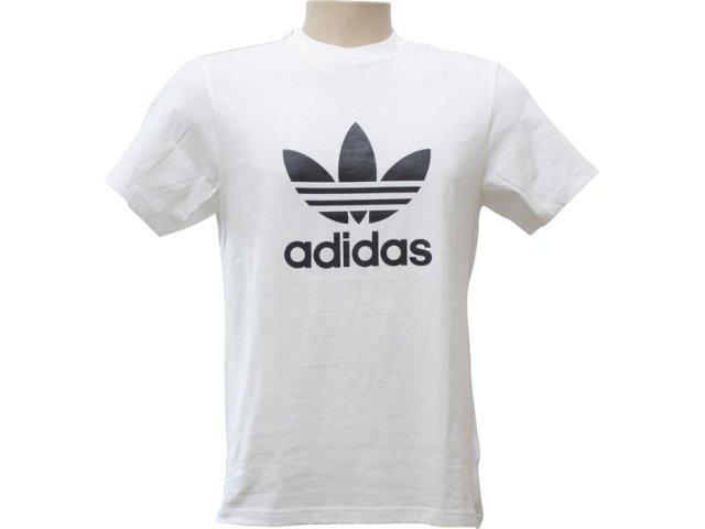Camiseta Masculina Adidas P04154 Branco