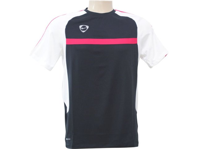 Camiseta Masculina Nike 382084 016 Preto/branco