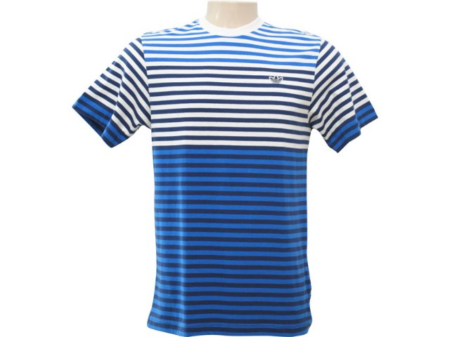 Camiseta Masculina Adidas P06367 Listrado