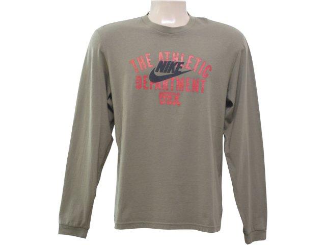 Camiseta Masculina Nike 258712 Verde