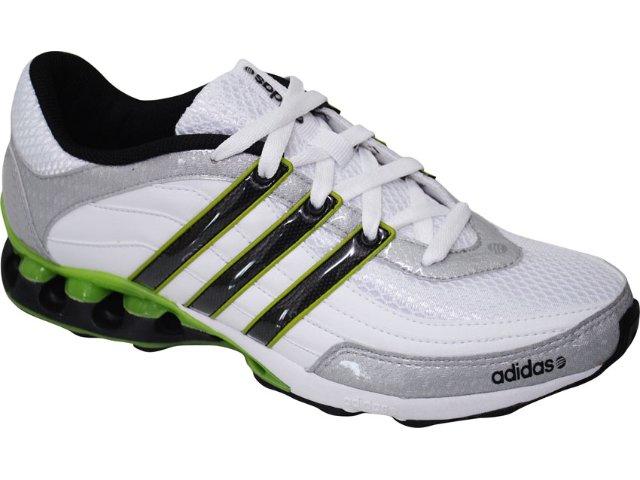 Tênis Masculino Adidas Tech l2 G31774 Bco/prt/verde