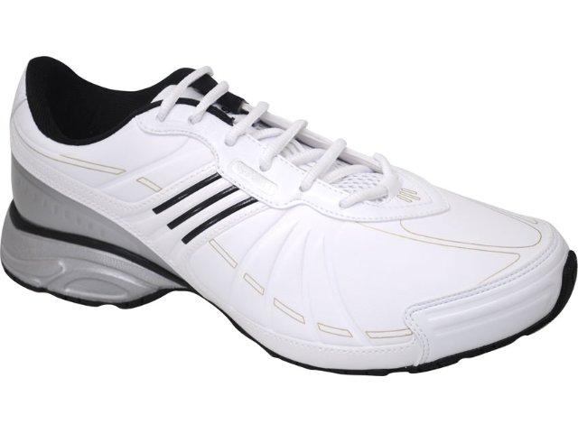 Tênis Masculino Adidas Hiper G29417 Branco/prata