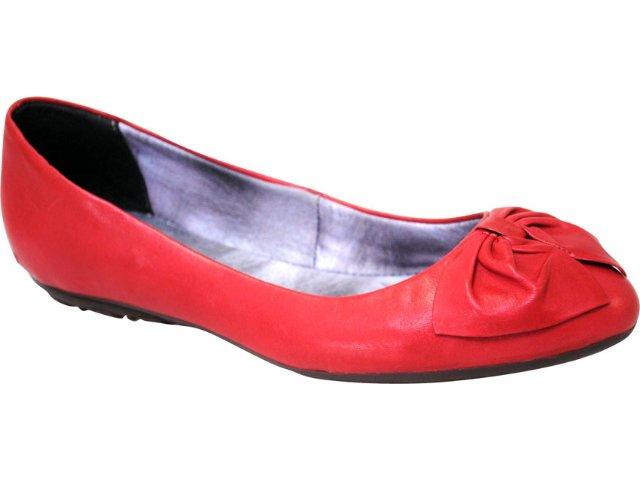 Sapatilha Feminina Bottero 132201 Vermelho