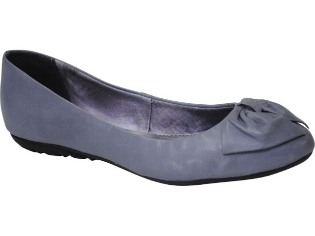 Sapatilha Feminina Bottero 132201 Azul/jeans