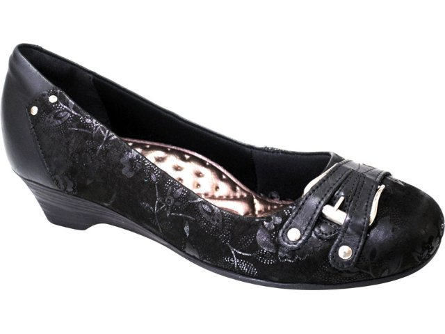 Sapato Feminino Campesi 1323 Preto