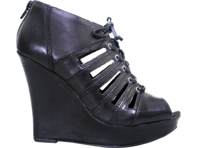 Summer Boot Feminina Via Marte 11-2201 Preto