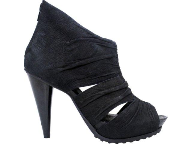 Summer Boot Feminina Ramarim 1128104 Preto
