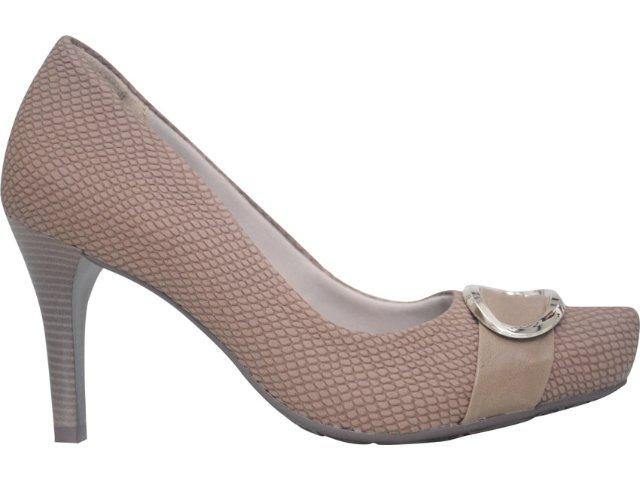 Sapato Feminino Ramarim 1168122 Amendoa