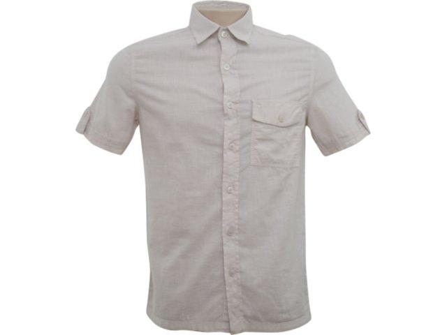 Camisa Masculina Hering H22j 9yenfv Cru
