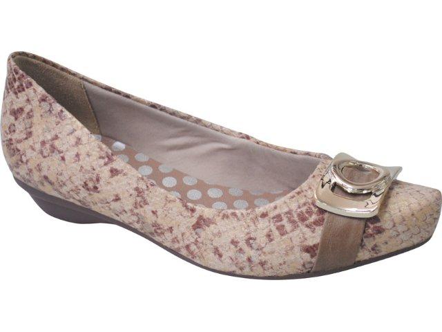 Sapato Feminino Ramarim 1165122 Natural