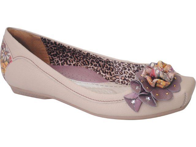 Sapato Feminino Campesi 1714 Avelã