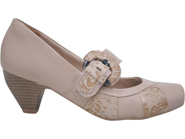 Sapato Feminino Campesi 1691 Avelã