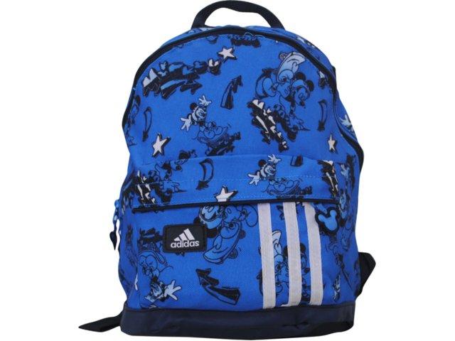 Mochila Uni Infantil Adidas V42755 Disney Azul