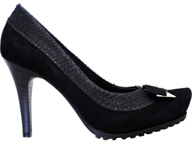 Sapato Feminino Ramarim 1123103 Preto