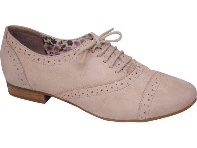 Sapato Feminino Oxford Bottero 140802 Nude