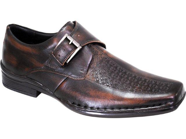 Sapato Masculino Ferracini 3720 Castanho