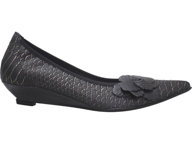 Sapato Feminino Bela Flor 2001 Preto Peixe