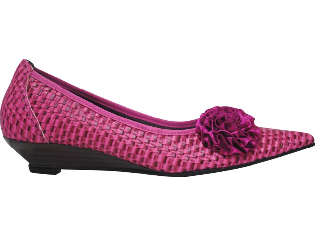 Sapato Feminino Bela Flor 2003 Rosa Trisse