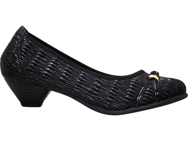 Sapato Feminino Bela Flor 3002 Preto