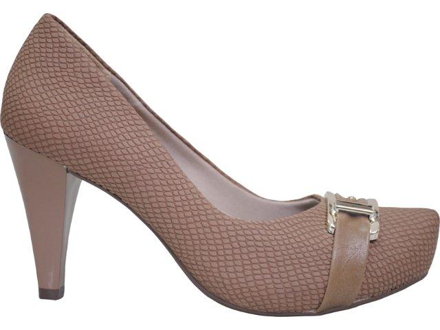 Sapato Feminino Ramarim 1169122 Amendoa
