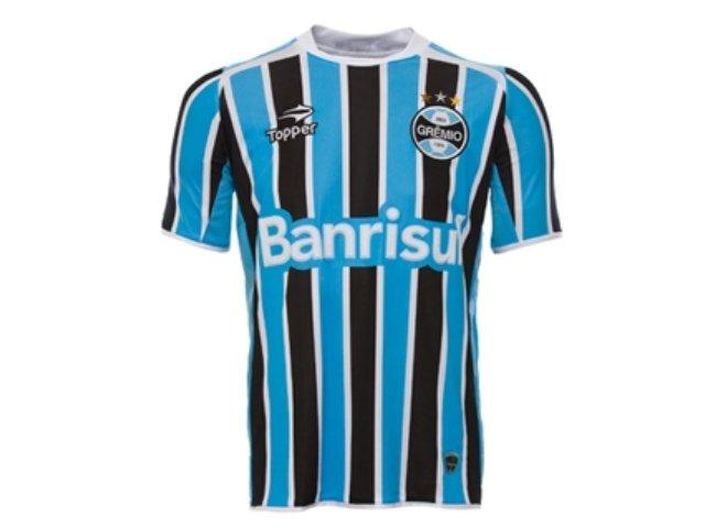 Camiseta Masculina Grêmio C7000m 2011 Tricolor