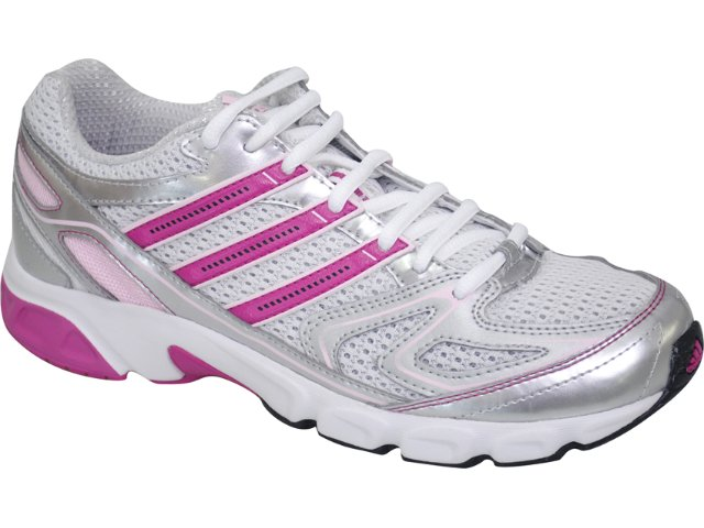 Tênis Feminino Adidas Uraha 3k U44159p Cinza/rosa Pink