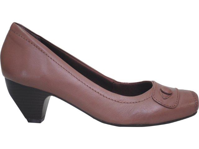 Sapato Feminino Campesi 1392 Chocolate