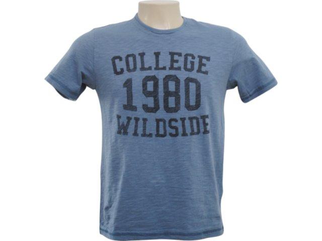 Camiseta Masculina Hering 4c2y As410s Azul Petróleo