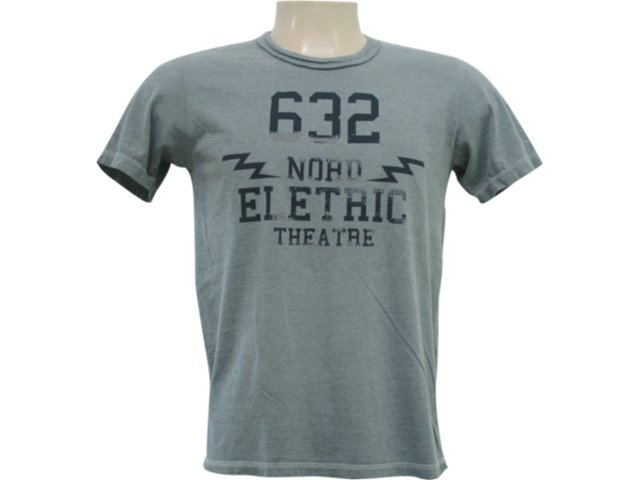 Camiseta Masculina Hering 4c36 E9310s Verde Estonado