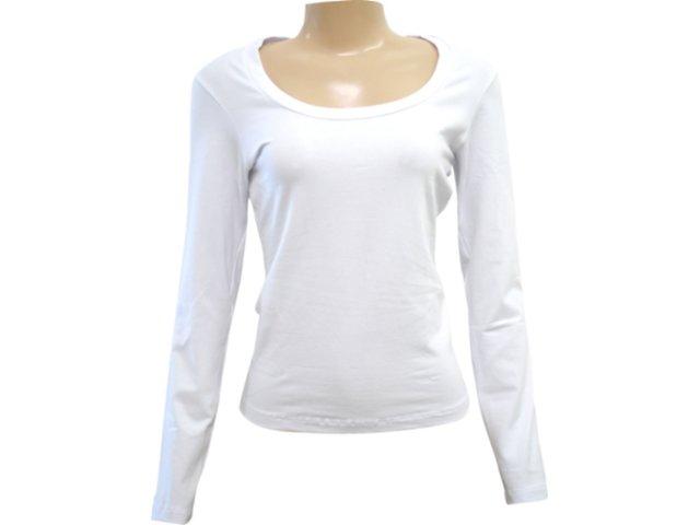Blusa Feminina Hering 02c2 Noa00s Branco