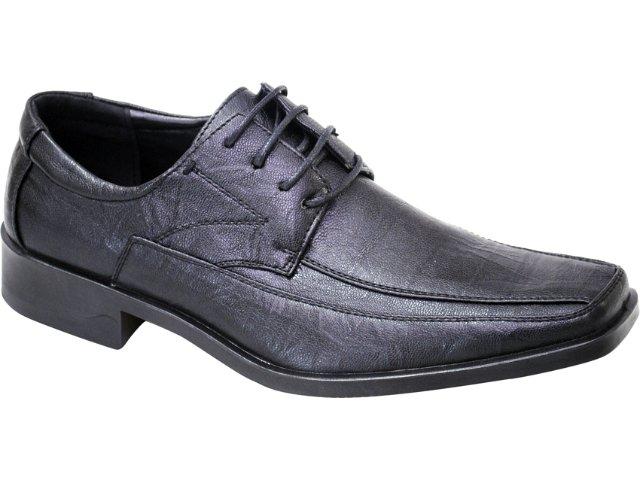Sapato Masculino Fushida 8882 Preto
