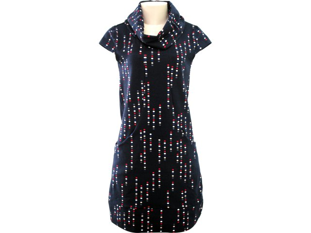 Vestido Feminino Hering 09e0 1a00s Marinho