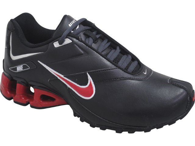 Tênis Masculino Nike Impax Emirro 386501-007 Preto/vermelho